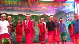 """গারো আদিবাসীদের ঐতিহ্যবাহী """"ওয়ানগালা"""" উৎসব"""