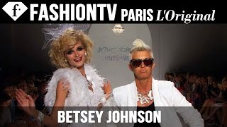 Betsey Johnson Spring/Summer 2015 Arrivals | New York Fashion Week NYFW | FashionTV