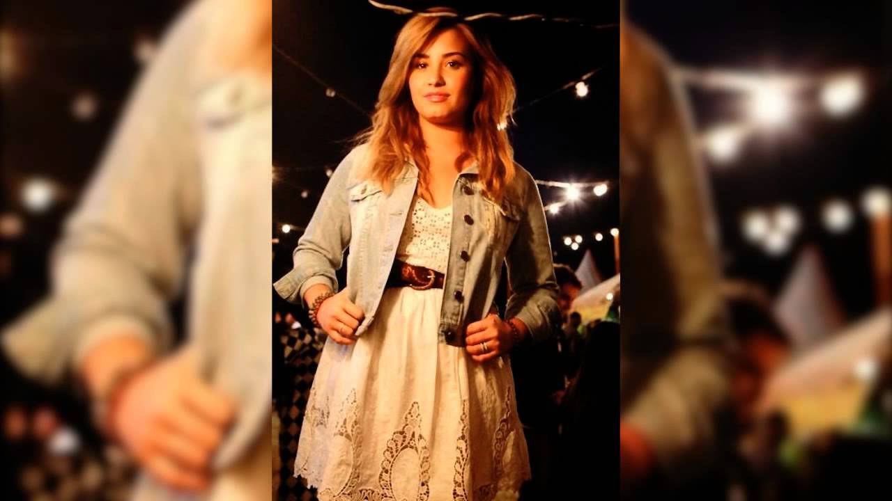 Demi Lovato  Usa Music Video Shoot Youtube