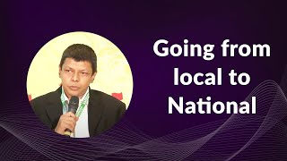 Going from local to National
