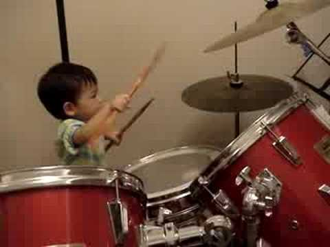 23 month Drummer Music Videos