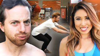 10,000 Squats In 24 Hours Challenge ft. Blogilates