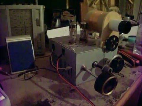 531 kHz Jil FM Algeria con radio bivalvolare a reazione