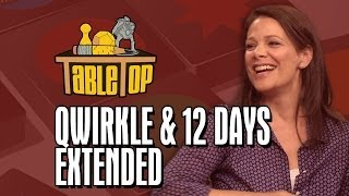 TableTop Extended: Qwirkle and 12 Days (Kelly Hu, Wil Wheaton, Meredith Salenger, and Nolan Kopp)