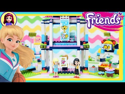 Lego Friends Stephanie's Sports Arena Build Review Silly Play Kids Toys