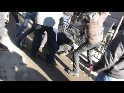 Киев Мариинский парк 18 02 2014 г избиение, убийство протестующих Беркутом МВД и титушками