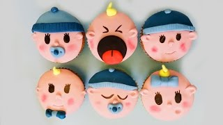 BABY CUPCAKES | CRAFTMAMA | HOW TO DECORATE