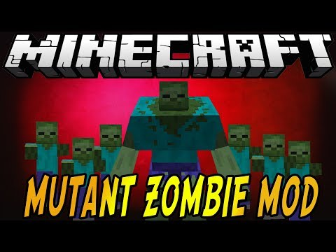 Minecraft Mod Spotlight: MUTANT ZOMBIES!