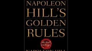 NAPOLEON HILL-10 GOLDEN RULES-Video 1-Definiteness of Purpose