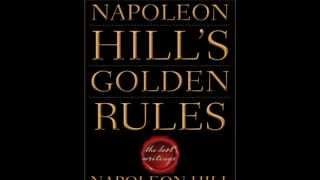 NAPOLEON HILL-10 GOLDEN RULES-Video 1-Definiteness of Purpose