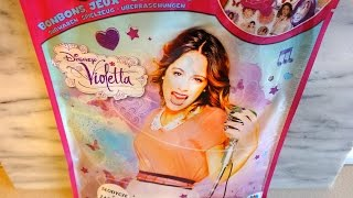 Disney Violetta Big Surprise Blind Bags Toys & Candy Unpacking Sorpresa