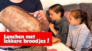 LEKKER LUNCHEN MET UTOPIA BROOD! - De Nagelkerkjes #137
