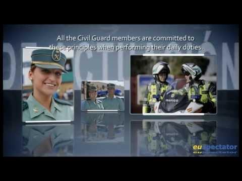 Spanish Guardia Civil Expo at Euro Parliament - Strasbourg