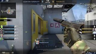Epic, fast CS:GO match! (6 minutes)  -/2xRagequit/-