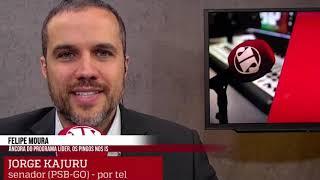 SENADOR KAJURU SAI DO PLENÁRIO E É ENTREVISTADO PELA JOVEM PAN EM REDE NACIONAL!!!
