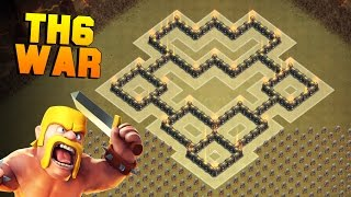 Download Clash of Clans | BEST TH6 War Base | New Town Hall 6 Defense Base Layout [CoC TH6] 3Gp Mp4
