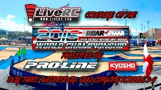 2016 IFMAR 1:8 Nitro Buggy Worlds - Wednesday Qualifying Day