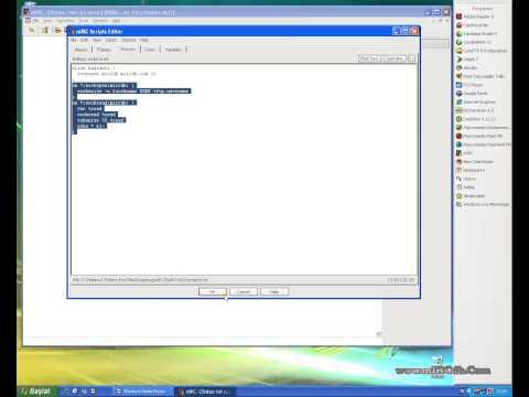 mIRC Script Socket FTP Bağlantisi.