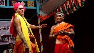 Yakshagana -- hasya - Ravishankar bhat & Seetharam kumar - 2