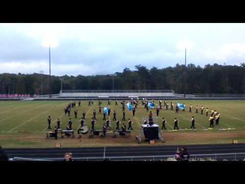 West Stokes High School Marching Band Competition Oct 12, 2013