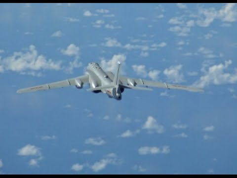 Chinese Military Aircraft Fly to West Pacific for Drill