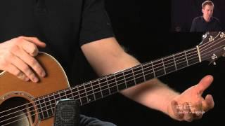 how to play sex on fire on acoustic guitar