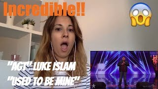 "Luke Islam 12-years-old AGT singing ""She used to be mine"""