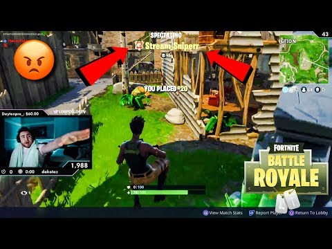 Fortnite Stream Snipers Getting To LosPollosTv (Daily Fortnite Highlights #25) thumbnail
