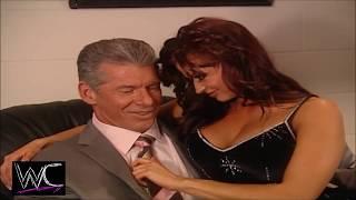 WWE Mr McMahon, Candice Michelle 1080p Backstage