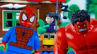 LEGO Superheroes STOP MOTION LEGO Hulk Fishing Trip, Villains & More! | LEGO Hulk | By Billy Bricks