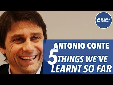 Five Things We've Learnt On Antonio Conte   With Charlie Skillen