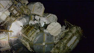 Power Play Spacewalks Aboard the Space Station on This Week @NASA – October 11, 2019