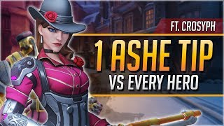 1 ASHE TIP for EVERY HERO ft. Crosyph