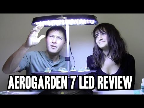 Best Indoor Garden for Beginners: Aerogarden 7 LED Review