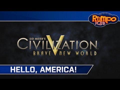 Civilization V: Brave New World - Germany - E09 - Hello, America!