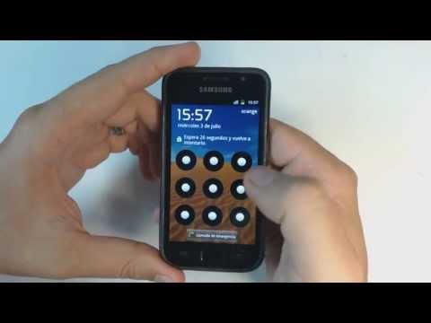Samsung Galaxy S I9000 - How to reset - Como restablecer datos de fabrica