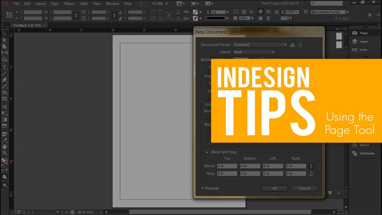 Indesign software for