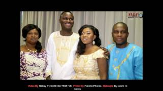 THOMPSON +PORTIA =  TRADITIONAL  GHANAIAN ENGAGEMENT  21- 01- 2017
