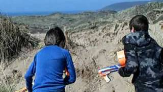 Nerf Battle_ The Sand War