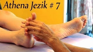 Relaxing ASMR Foot Massage, Athena Jezik 7, How To Massage Therapy Techniques