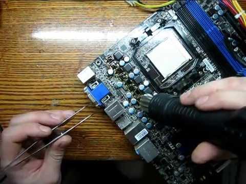 ремонт материнской платы MSI 880GMA E45