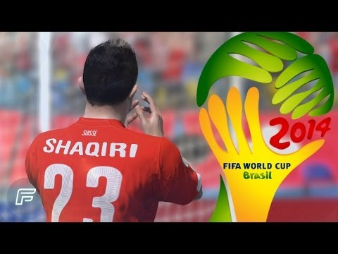 Xherdan Shaqiri - Hat Trick Vs Honduras In 2014 World Cup (FIFA Remake)