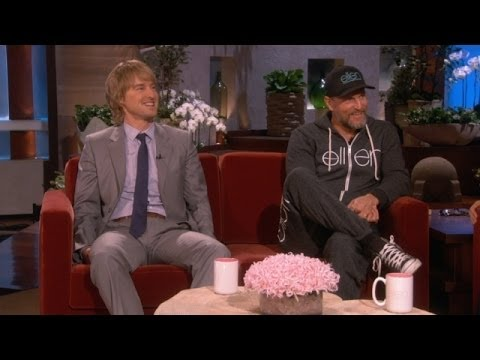 Owen Wilson's Christmas Punk on Woody