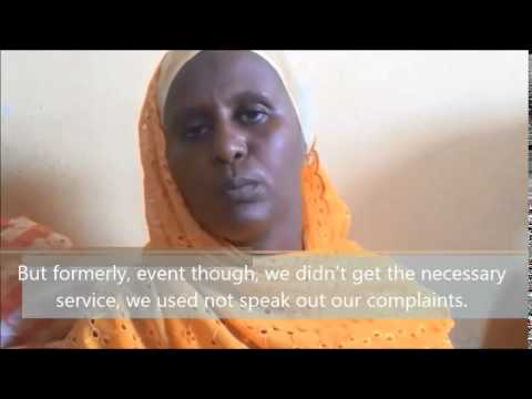 The women group about health service delivery in Metehara, Ethiopia