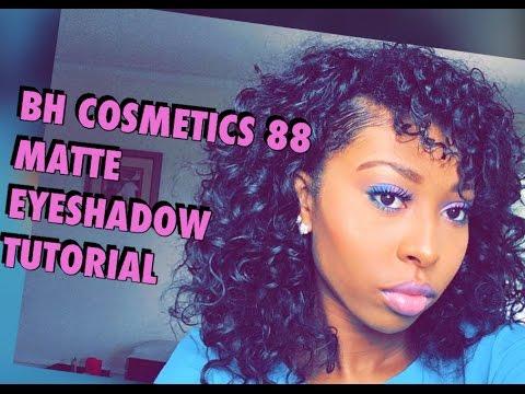 BH Cosmetics 88 Matte Color Eyeshadow Tutorial