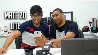 Huawei Mate 20 Lite é tão bom quanto o Pocophone? |  Unboxng e impressões (feat.Jersu)