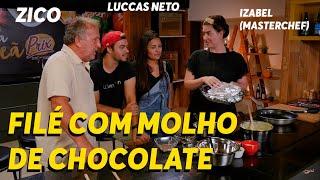 LUCCAS NETO, ZICO E THAYANE TROLLAM IZABEL   Canal Zico 10