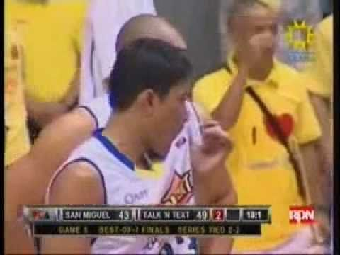 PBA finals GAME 5 San Miguel Beermen vs Talk N' Text tropang texters.