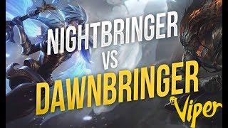 DAWNBRINGER RIVEN vs NIGHTBRINGER YASUO, the eternal rivalry! - Viper Stream Highlights Episode #22