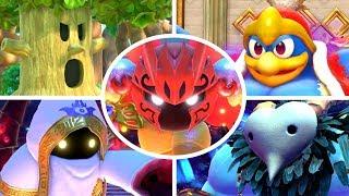 Kirby Star Allies - All Bosses + Secret Bosses